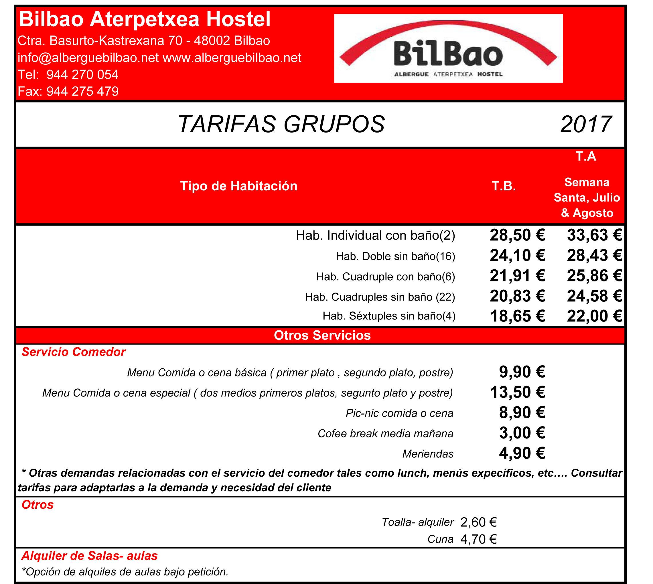 Tarifas Grupos 2017.xlsx
